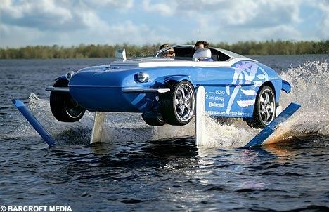 Rinspeed Splash Sports Car Walks On Water