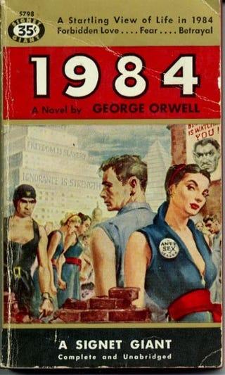 a 1949 review of orwells 1984 Nineteen eighty-four (em português: mil novecentos e oitenta e quatro ou 1984), muitas vezes publicado como 1984, é um romance distópico da autoria do escritor inglês george orwell e publicado em 1949.