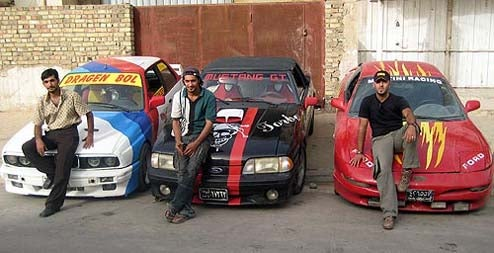 Uday Is Gone, But Baghdad Car Freaks Still Have It Rough