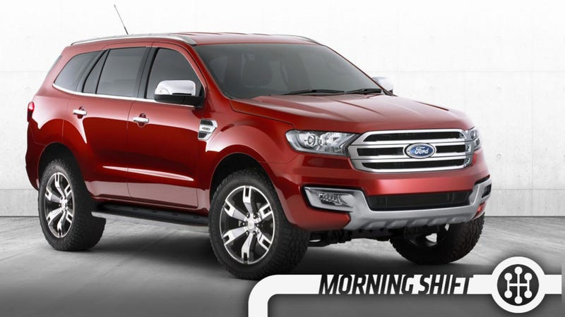 The Ford Everest Concept Is The Amazing SUV Not For America