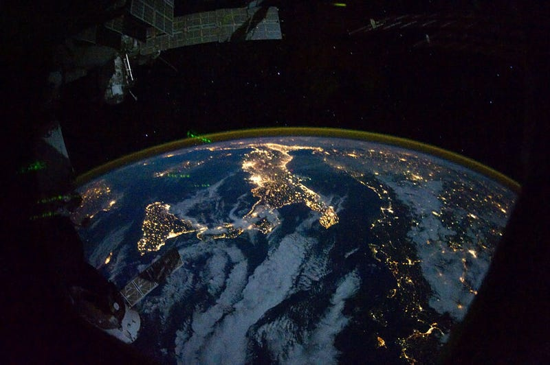 The glittering lights of Earth: the ISS photographs the dark side of our world