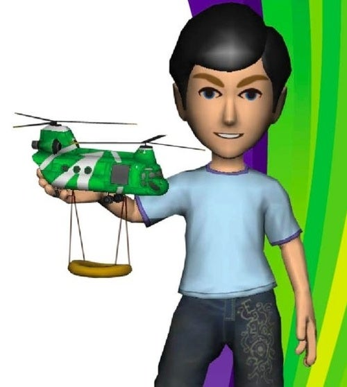 Kinect Gives Free Helicopters to VIPs