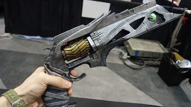I Stumbled Upon a 3D-Printed Movie and Video Game Prop Wonderland