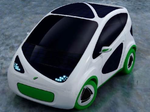 Fiat Phylla Concept Is Green, Uses Frame Resembling Board Of Skating