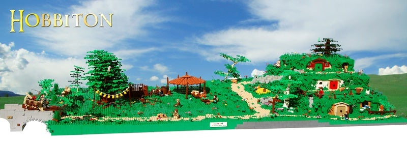 Enormous LEGO Hobbiton Model Goes Ever On And On...