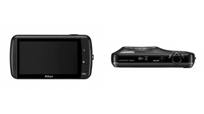 Nikon Coolpix S800c: Can Android Make Wi-Fi Useful On a Camera?
