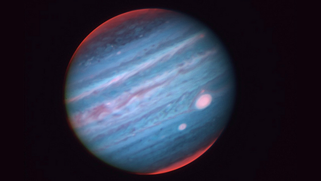 This Extraordinary Shot Of Jupiter Was Taken From The Earth's Surface