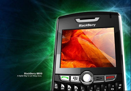 Blackberry 8800 Up Close and Personal