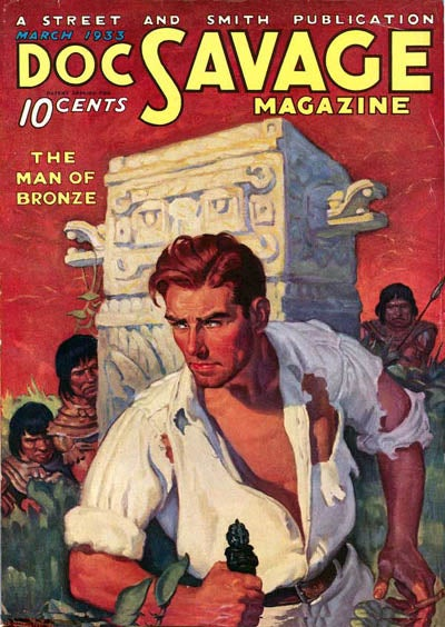 The First Transhumans, or Why Doc Savage Lost His Superpowers