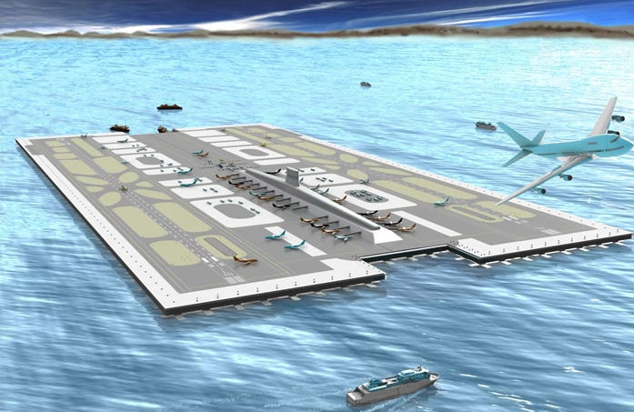 San Diego Floating Airport Would Be A City Of Its Own