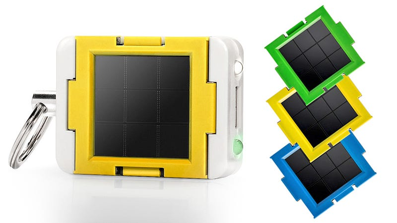 Daisy-Chain This Keychain Solar Battery's Panels For Faster Charges