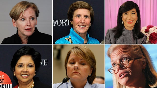 New Lady CEOs Are Rolling In The Dough