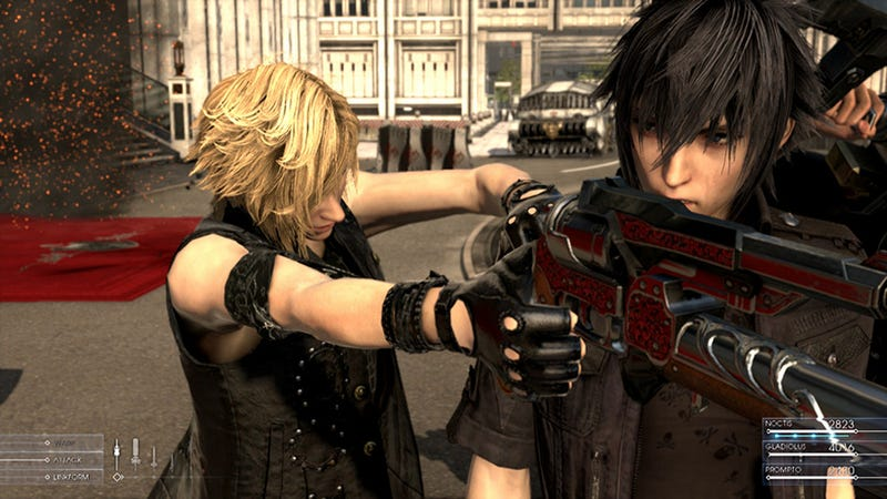 Final Fantasy XV Sounds Different, But Traditional