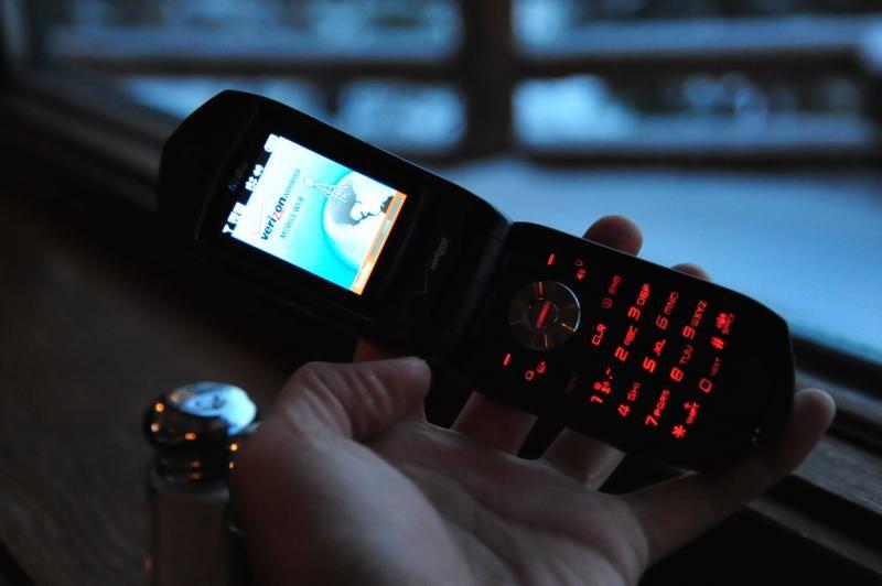 Casio Verizon Boulder G'zOne Waterproof Cellphone: Snowmodo Review