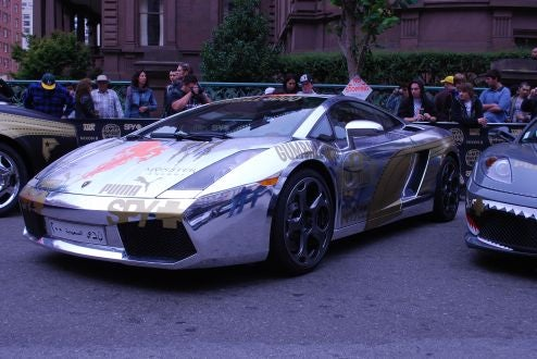 High-Buck Imported Machinery At The Gumball 3000