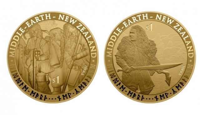 New Zealand is now minting Lord of the Rings money