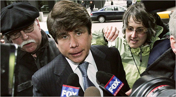 "Blago Pleads ""Rambling Crazy Monologue"" To Criminal Charges"