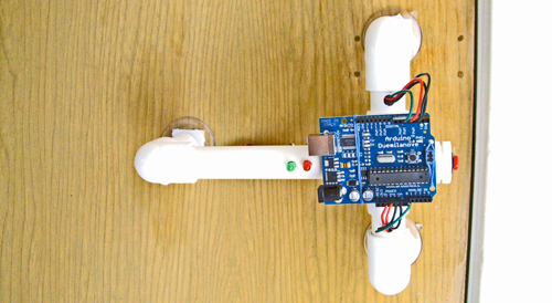 DIY Secret Knock Detector Grants You Entrance with the Right Cadence