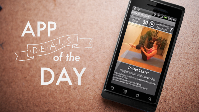 Daily App Deals: Get Daily Ab Workout for Android for Free in Today's App Deals