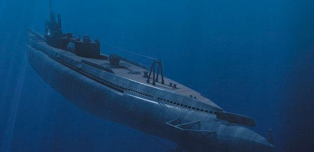 WW2 Japanese Sub