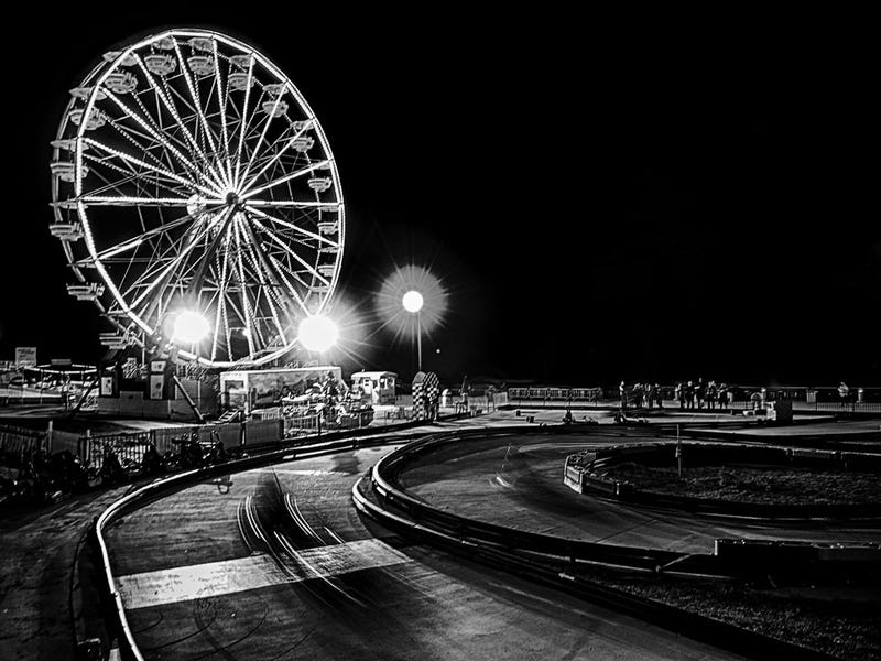 Shooting Challenge: Black & White, Night