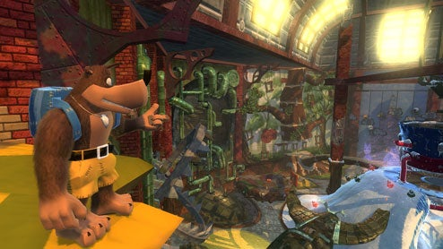 Banjo Kazooie: Nuts & Bolts Googly Eyed Impressions Of Slippery Physics