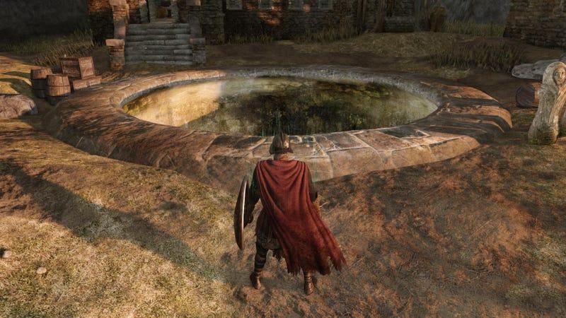 Dark Souls II's Best Early Joke
