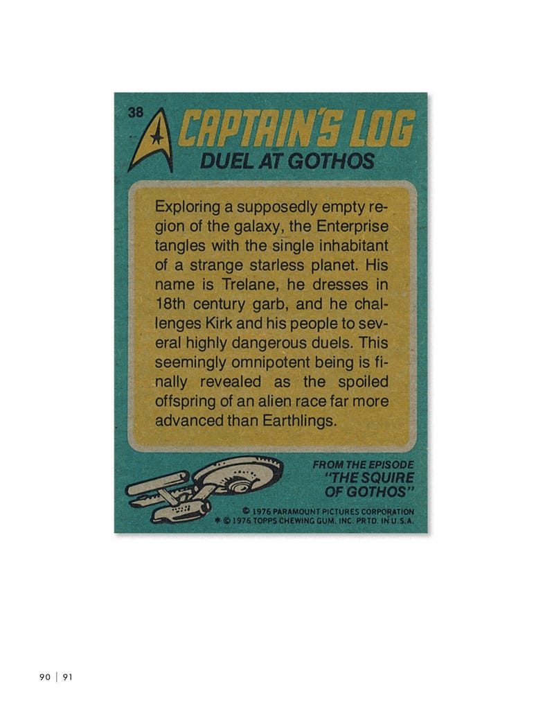 The Trading Cards that Defined Star Trek for a Generation