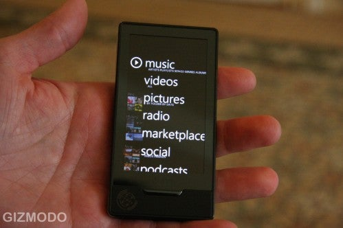 Zune HD Packs Nvidia Tegra: Better Video and Better Battery Life