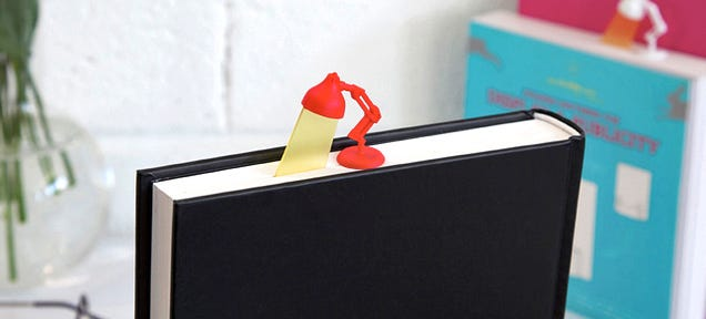 Adorable Desk Lamp Bookmark Sheds Light On the Last Page You Read