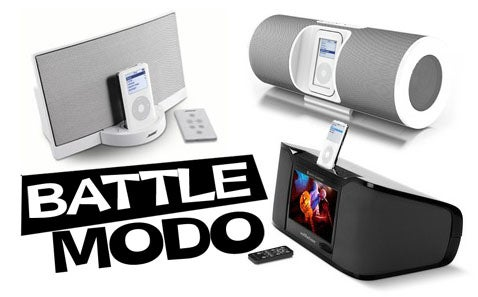 Bose Sound Dock Vs. Altec Lansing IM7 Vs. Altec Lansing IMV712