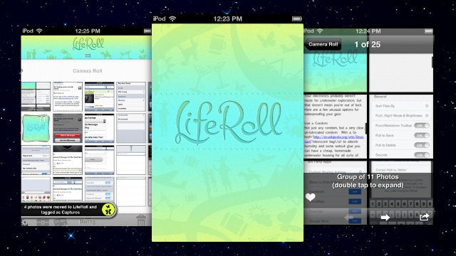 LifeRoll Organizes Your iPhone's Camera Roll for Easier Viewing