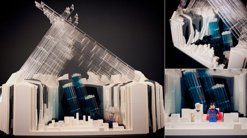 This Lego Fortress of Solitude Should Be a Set