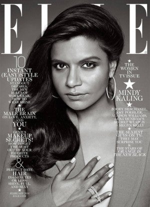 Mindy Kaling's Elle Cover Looks Different Than the Others