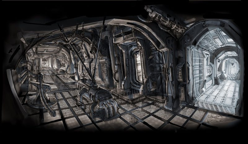Check Out This H.R. Giger-Inspired Concept Art For The Blake's 7 Reboot