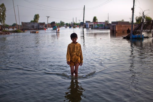 Flooding in Pakistan has Claimed Unknown Number of Lives