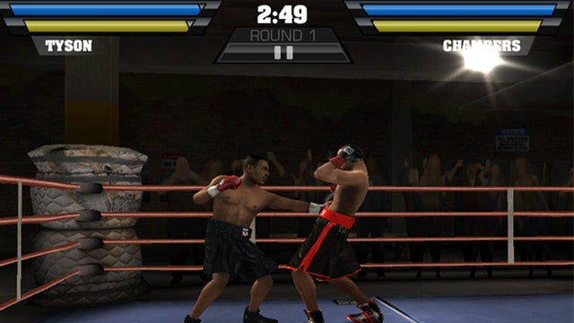 Fight Night Champion for iPhone Lets You Wail on Your Friends Over Wi-Fi