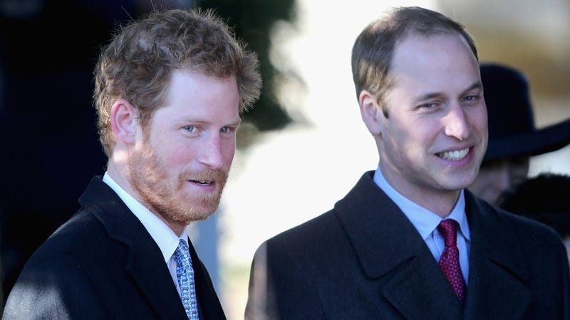 Princes William and Harry Reportedly Bearing Down on America