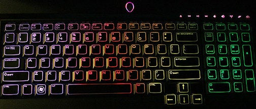Now All the Alienware m17x's Keyboard Needs is a Unicorn
