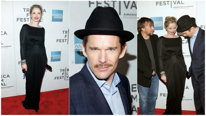 Julie Delpy Is Va Va Voom, Ethan Hawke Channels Kevin Bacon at Before Midnight Premiere