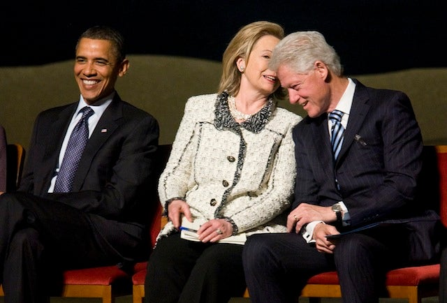 """What Hillary Whispered"""
