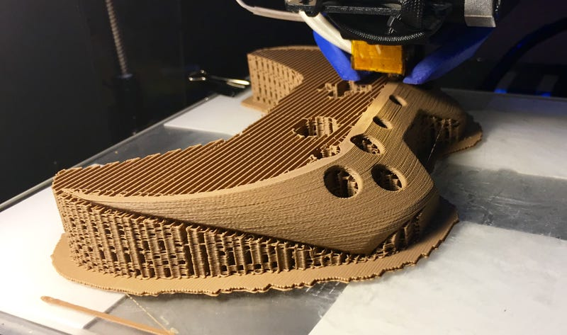 A 3D-Printed Xbox One Controller, Made Of Wood
