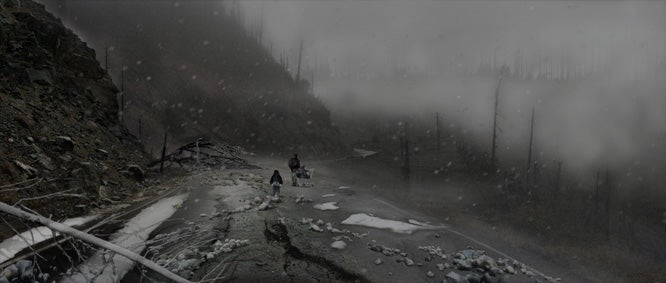 "Moody Concept Design For ""The Road"" Is Artwork In Its Own Right"