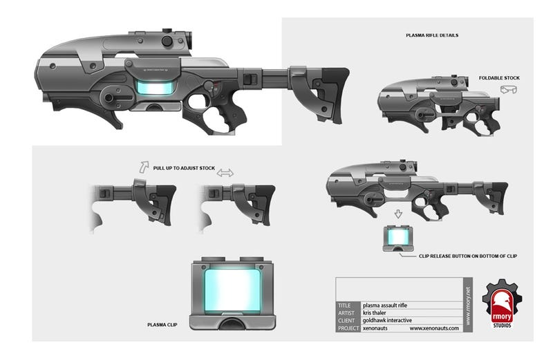 Yes, You Can Design Video Game Weapons For A Living