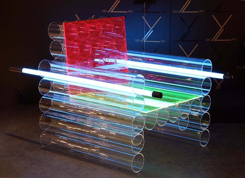 The Plexiglass Chair from the Future
