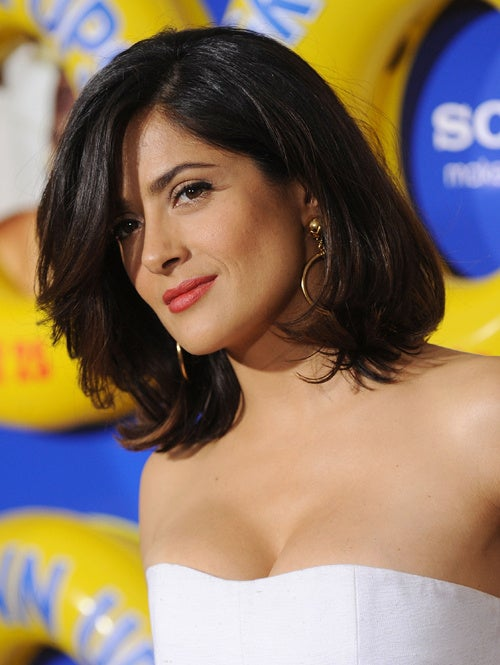 Salma & Demi Might Work Together; Bieber's Mom Might Pose Topless