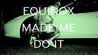 EQUINOX MADE ME DO IT (IN FRONT OF A FERRARI)