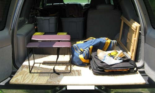 Make a Rolling Cargo Platform for Your Truck, Van, or SUV