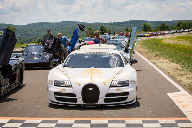 Fundraising Event Brings Out Dream Cars In NY's Hudson Valley