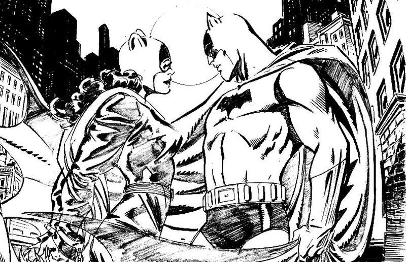 Gaiman's Batman A Lover, Not A Fighter
